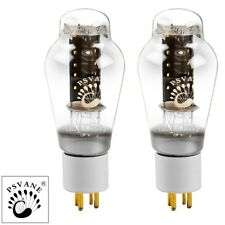 New Current Matched Pair (2) Psvane 300B HiFi Series Vacuum Tubes Gold Pins