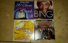 Selection of 4 x Express/Daily Mail Christmas promo cds