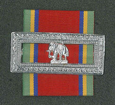THAILAND ORDER OF THE WHITE ELEPHANT - FIFTH CLASS MEMBER MEDAL Ribbon Badge