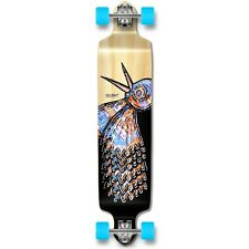 Yocaher Drop Down Longboard Complete - The Bird Natural