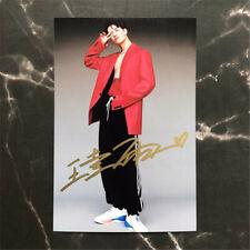 Hand Signed Autographed Photo Jackson Wang 王嘉尔 Autograph 10.2*15.2cm Fans Gift