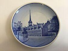 """Royal Copenhagen Denmark Borsen 14-2010 Mini Plate, 3"""" Diameter"""