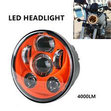 "12-30V 5.75"" 45W LED Motorcycle Headlight Front Hi/Lo Beam Turn Signal Light"
