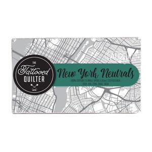 New York Neutrals Aurifil Thread Set The Tattooed Quilter 5 Spools 100% Cotton