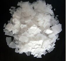 Best Quality Caustic Soda Flakes - FOR Home Made Soaps and Detergents - 500 GM