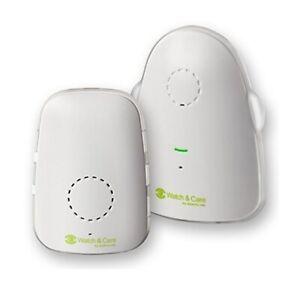 Audioline, Watch and Care 60, Babyphone mit digitaler Tonübertragung Babyfon Set