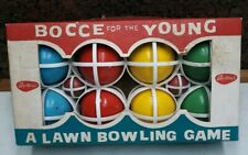 Vintage Bocce For The Young  SportCraft Lawn Bowling Game