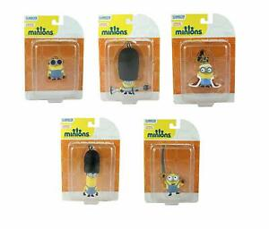 Roll over image to zoom in MINIONS The Movie Set of 5 Mini Figure Bag Clips Key