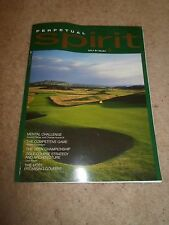 GOLF Perpetual Spirit Golf by Rolex Magazine Issue No 5  2003 Illustrated
