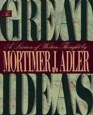 Great Ideas : One Hundred Two Essays by Mortimer J. Adler (1992, Hardcover)