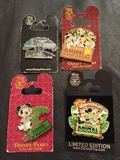 Lot Set of 4 Authentic Disney Pins~WDW~Animal Kingdom~ From a Private Collection