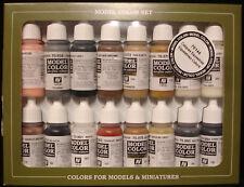 Vallejo Modelo Color 70.144 ecuestre/Caballo Color De Pintura Set 16x17ml Acrílicos