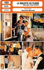FICHE CINEMA : LA ROULOTTE DU PLAISIR - Ball,Minnelli1953 The Long, Long Trailer