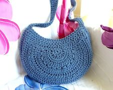 Crochet Bag Pattern Tote Totebag Beach Boho Shoulder Bags Patterns Digital Media