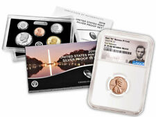 2019 US Silver Proof Set &W Lincoln Cent NGC PF70 RD Reverse FR SKU57889