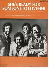 "THE OSMOND BROTHERS ""SHE'S READY FOR SOMEONE TO LOVE HER ""SHEET MUSIC-1983-NEW!!"