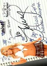 Lindsey Roeper 7 2016 Bench Warmer Pink Archive FE 2008 School Girls Auto
