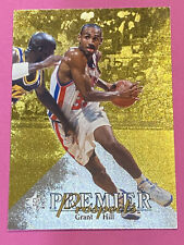 1994-95 UPPER DECK SP AUTHENTIC GRANT HILL ROOKIE CARD