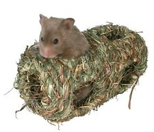 Grassy Hay Play Tunnel For Mice, Gerbils, Hamsters & Other Small Rodents