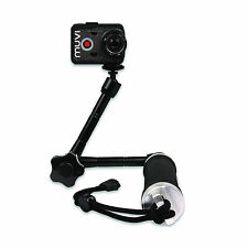 Veho Muvi 3-Way Monopod with Extended Arm for Muvi & GoPro
