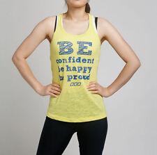 Brand NEW Quality GENUINE Lorna Jane Be Confident Tank Top Singlet XS, S, M, L