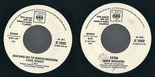 45 GIRI   JOHN DAVIS & MONSTER ORCHESTRA / EXTRA - LOVE MAGIC / MARIA MADDALENA