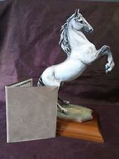 Kaiser Porcelain Figurine #297/1500 Hand Painted Signed Capitano Horse Limited