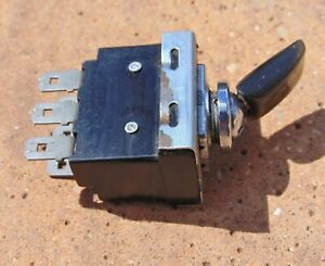 Classic Lucas Dashboard Toggle Switch Jaguar Type Mk 1963 Fuel Pump Left Right