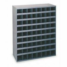 2 Metal 72 Hole Storage Bin Cabinet For Bolts Screwsnuts Washers Fasteners