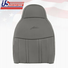 1997 1998 Ford F-150 Lariat Driver Upper Lean Back Leather Seat Med Graphite