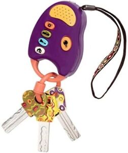 B. toys – FunKeys Toy – Funky Toy Keys for Toddlers and Babies &nda