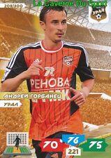 208 ANDREY GORBANETS RUSSIA # FK.URAL ADRENALYN PANINI 2014