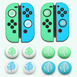 Animal Crossing 4PCS Silicone Caps Thumb Grips Cover for Nintendo Switch Joy-con