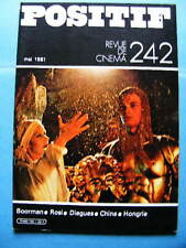 Cinéma revue Positif 242 1981 Francesco Rosi John Boorman Carlos Diegues Hongrie