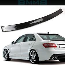 BENZ Roof Spoiler Carbon Fiber For W212 E250 E350 E550 E63 Sedan
