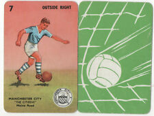JSCARDS MANCHESTER CITY CARD - PEPYS GOAL CARD GAME 1960'S?