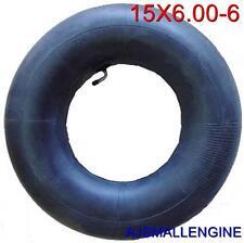 Tire Inner Tube 15x6.00-6, 15-6.00-6,15x6.00x6,15x600-6  L STEM(BENT STEM) - NEW