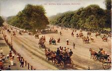 London, England - Rotten Row  vintage Postcard