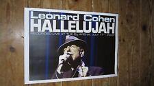 Leonard Cohen Hallelujah Repro Concert POSTER