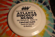 Vintage ATLANTA DISCOUNT MUSIC Humphrey No. 14 Promo Catch Disc Toy Wall Hanger
