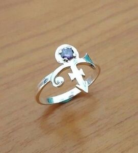 Prince - Purple Rains - Love Symbol Ring - Prince Rogers Nelson - 925 Silver