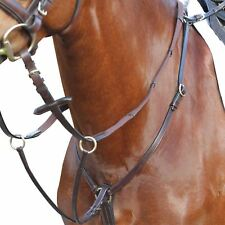 Kincade Event/Hunt Leather Breastplate Prevents Saddle Slippage - Brown Full