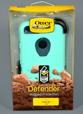 "Pixel XL Otterbox Defender 5.5"" Only Rugged Phone Case Borealis Blue Teal Aqua"