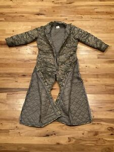 Dakota Outerwear Camo Insulated Mens Military Hunting Coveralls Large Regular VG