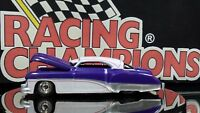 Racing Champions, '49 Custom Buick ©1998, Rubber Tires Purple White Top