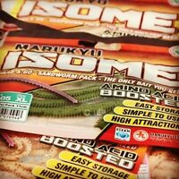 Marukyu Power Isome Worms - Lures ALL SIZES - NEW COLORS