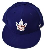 '47 Brand Mens NHL Toronto Maple Leafs Hockey Fitted Hat Cap New 7 3/8, 7 1/2