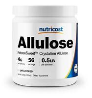 Nutricost Allulose Sweetener (8oz) - KETO Sugar, Natural Sugar Alternative