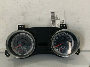 2012 Chrysler Town & Country Dodge Grand Caravan Speedometer Cluster KPH OE 232K