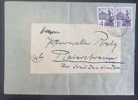 1948 Murgtal Baden Germany Commercial Cover Postwar Stamp
